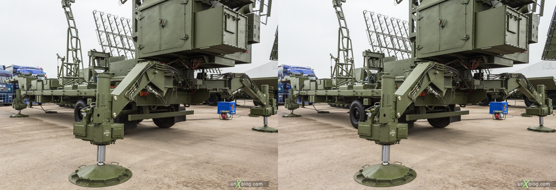2013, MAKS, International Aviation and Space Salon, Russia, Ramenskoye airfield, 3D, stereo pair, cross-eyed, crossview, cross view stereo pair, stereoscopic