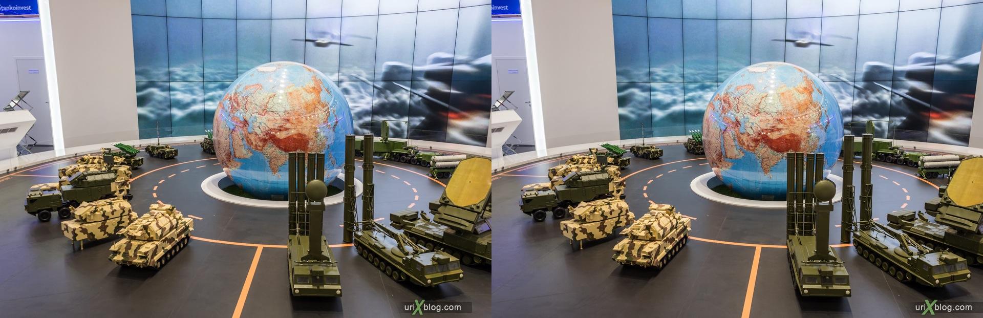 2013, MAKS, International Aviation and Space Salon, Russia, Ramenskoye airfield, 3D, stereo pair, cross-eyed, crossview, cross view stereo pair, stereoscopic