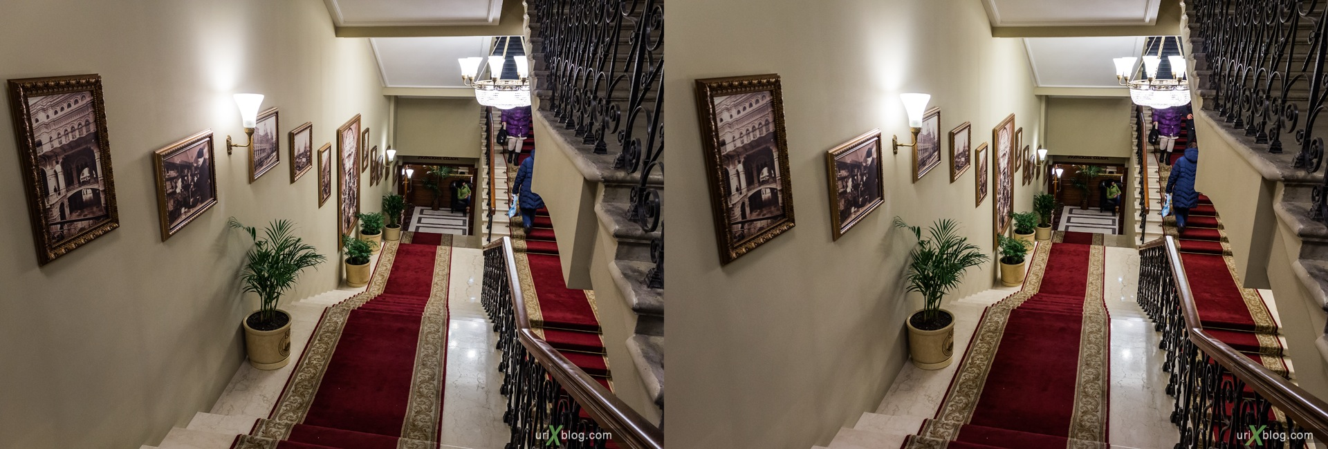 2013, Moscow, Russia, GUM, ancient toilet, wc, shop, mall, 3D, stereo pair, cross-eyed, crossview, cross view stereo pair, stereoscopic