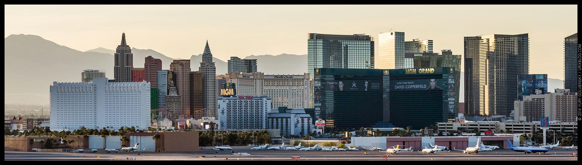 New York, MGM, Aria, casino, 2014, LAS, Las Vegas McCarran International airport, strip, LV, Clark County, USA, Nevada, panorama, horizon, city