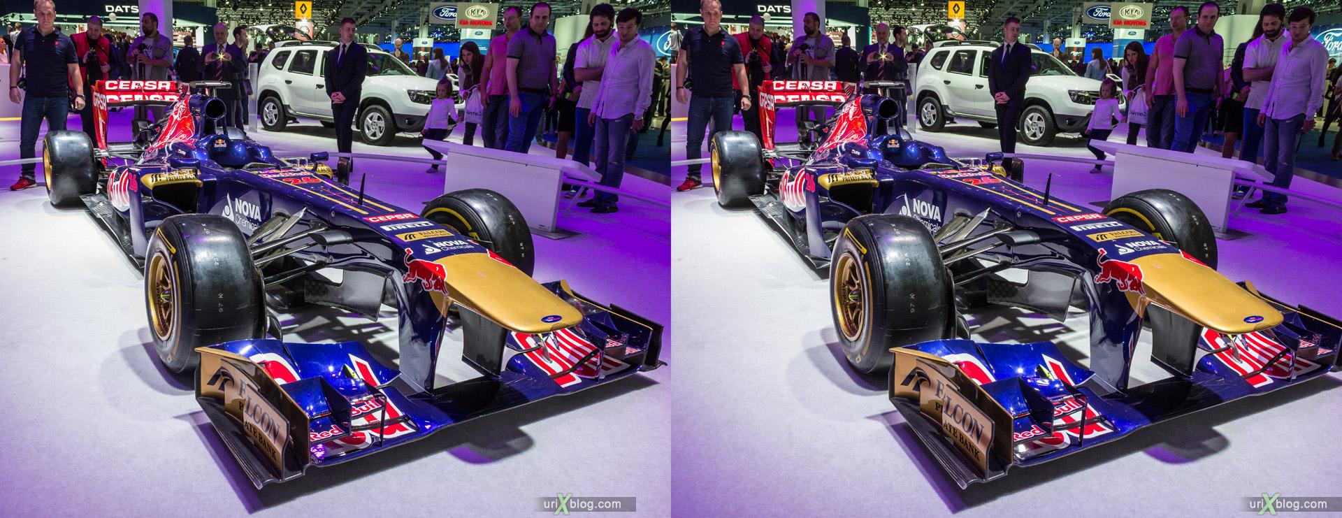 2014, Moscow International Automobile Salon, MIAS, Crocus Expo, Moscow, Russia, augest, 3D, stereo pair, cross-eyed, crossview, cross view stereo pair, stereoscopic