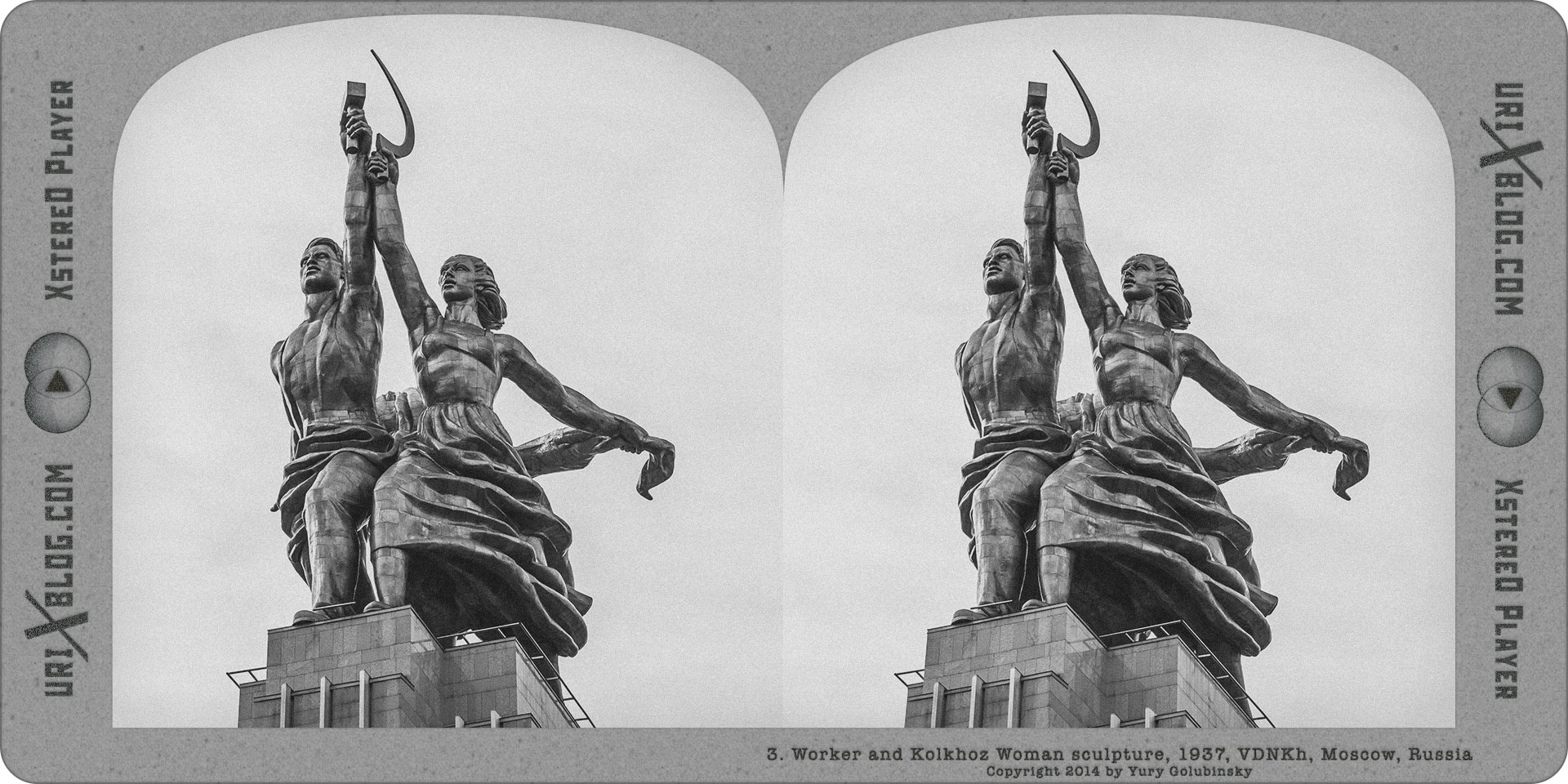 2014, Worker and Kolkhoz Woman, sculpture, statue, monument, museum, exhibition, VDNKh, Moscow, USSR, Russia, Soviet, art, 1937, Paris