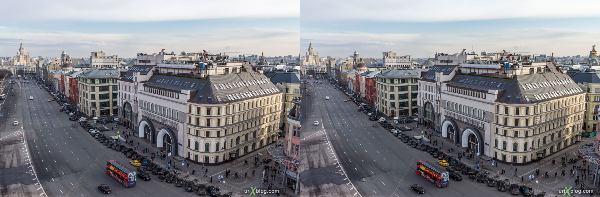 Central Childrens World, Shop, Store, Lubyanskaya square, Moscow, Russia, 3D, stereo pair, cross-eyed, crossview, cross view stereo pair, stereoscopic, 2015