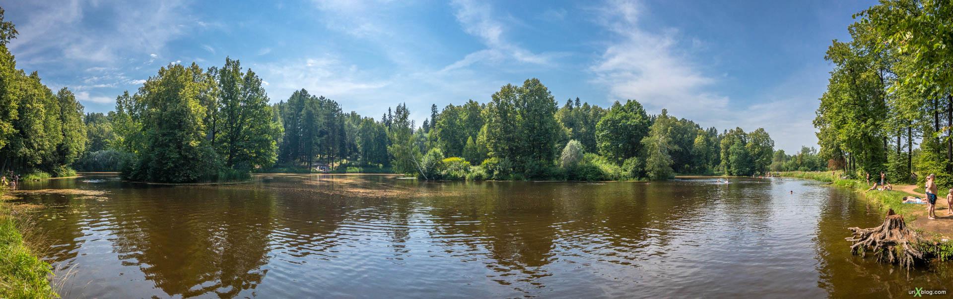Barsky pond, lake, Serednikovo homestead, Russia