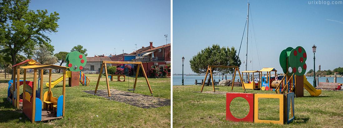 Детские площадки Бурано