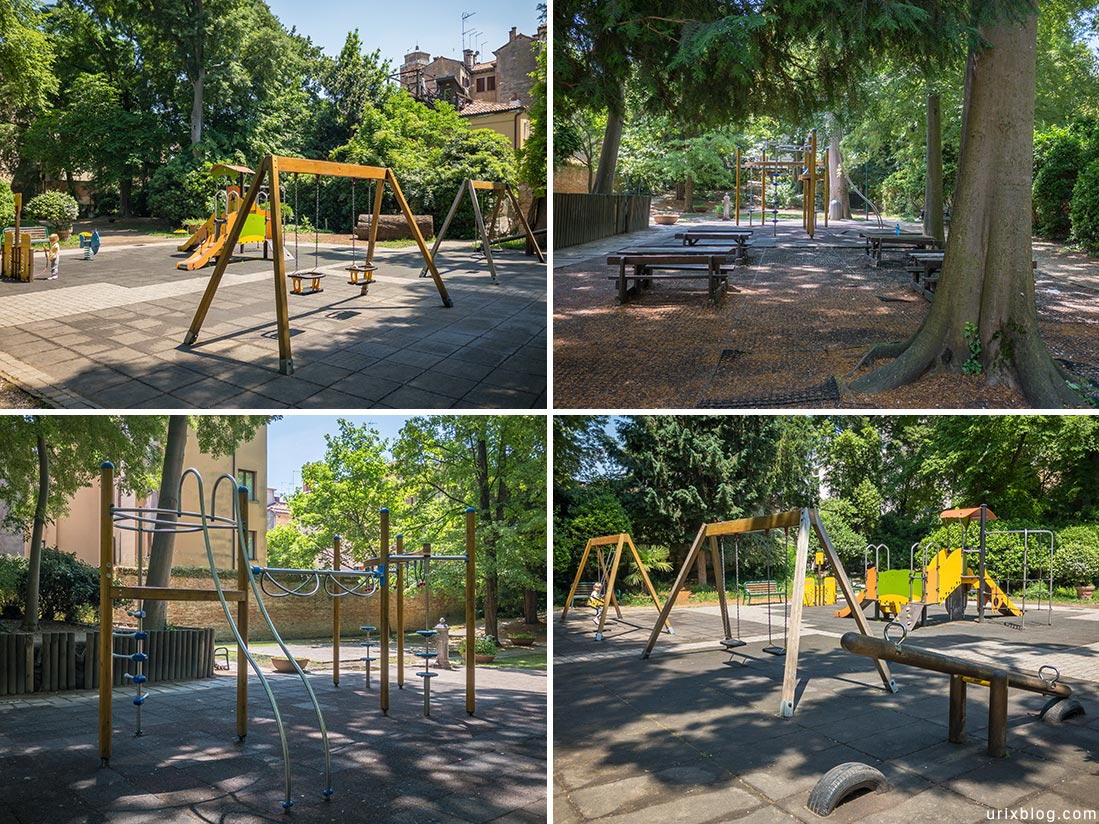 Детские площадки Cannaregio