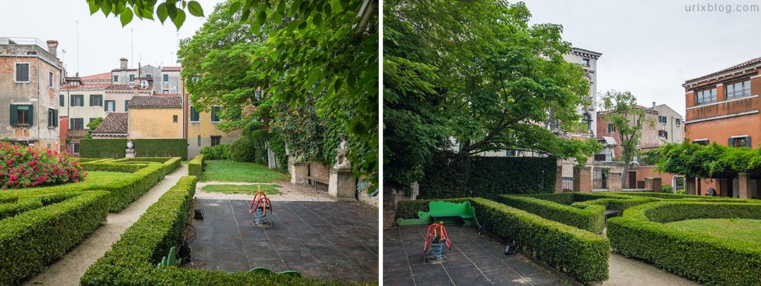 Детские площадки Dorso Duro, Ca' Rezzonico