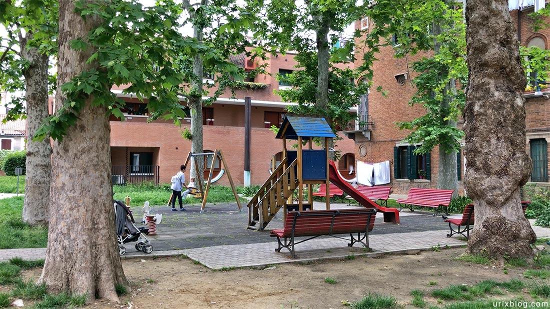 Детские площадки Джудекка