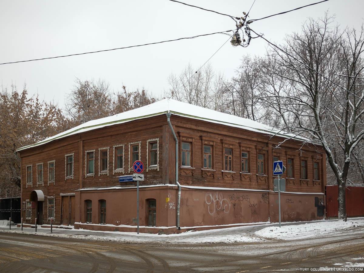 НИИ Комплекс, Москва, Россия, деревянное здание, Электрозаводская