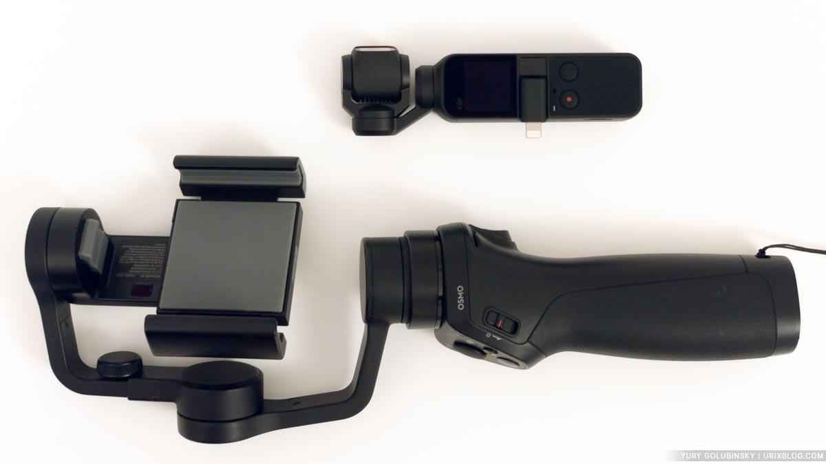 DJI, Osmo Pocket, review, unboxing, unpacking, Osmo Pocket vs Osmo Mobile