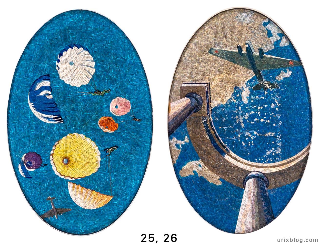 Маяковская, станция метро, мозаика, Москва, Россия, 2019, фото, фотография, СССР