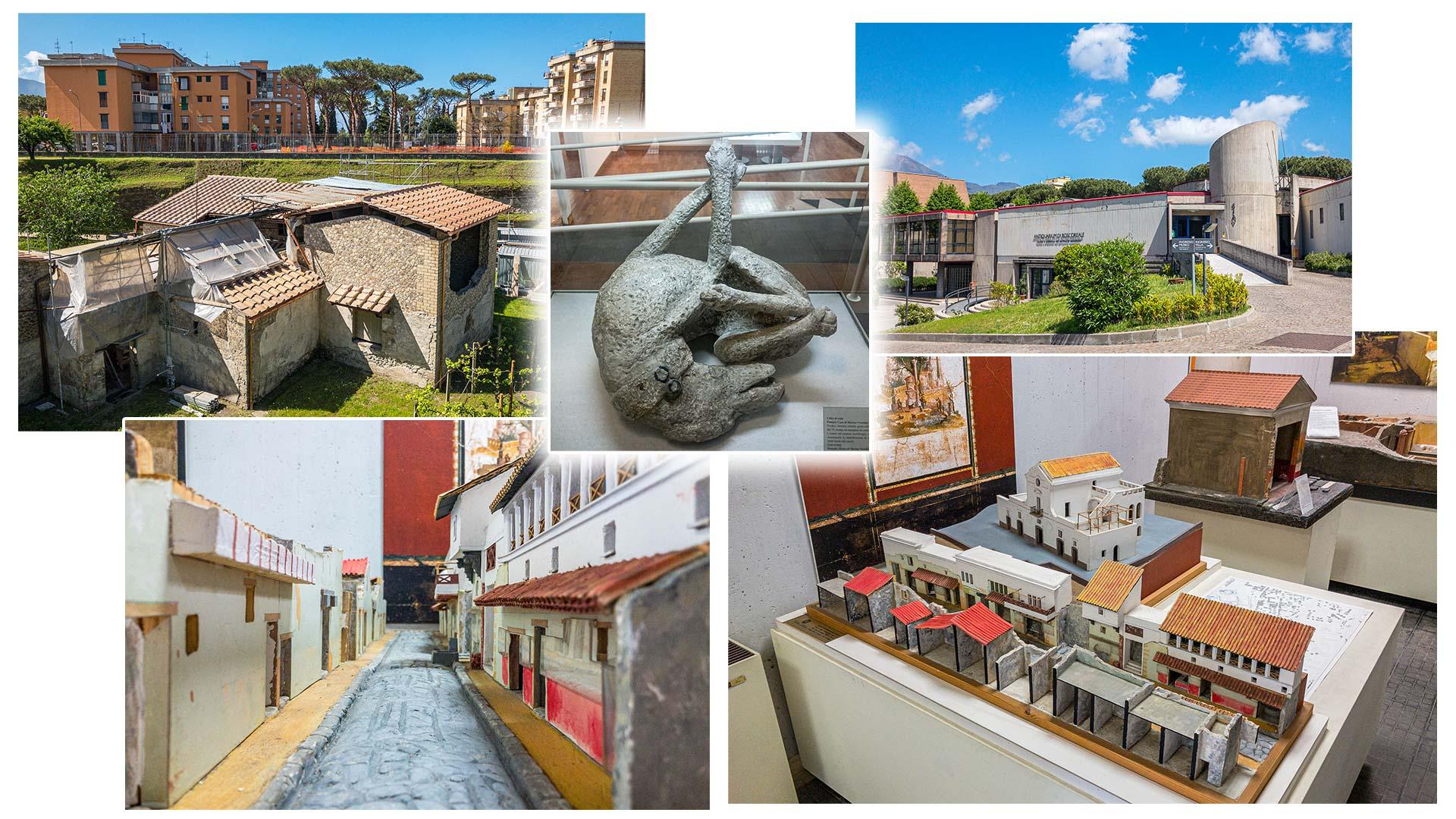 museum, excavations, villa Regina, Boscoreale, Pompei, Italy