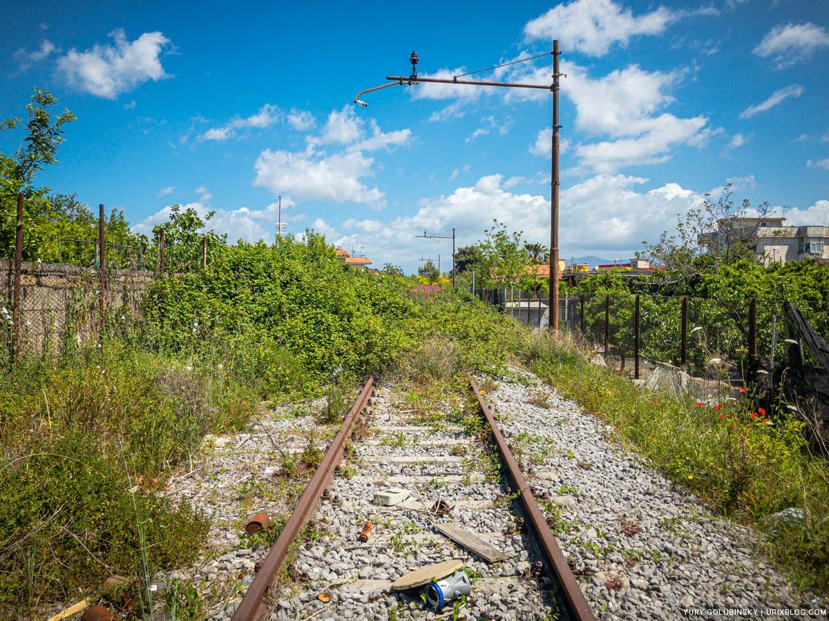 железная дорога, Торре-Аннунциата, Италия
