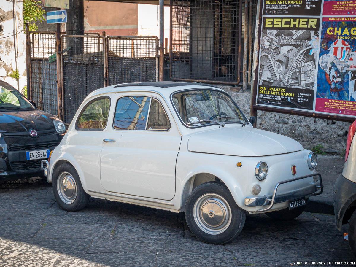 автомобиль, машинка, Торре-Аннунциата, Италия