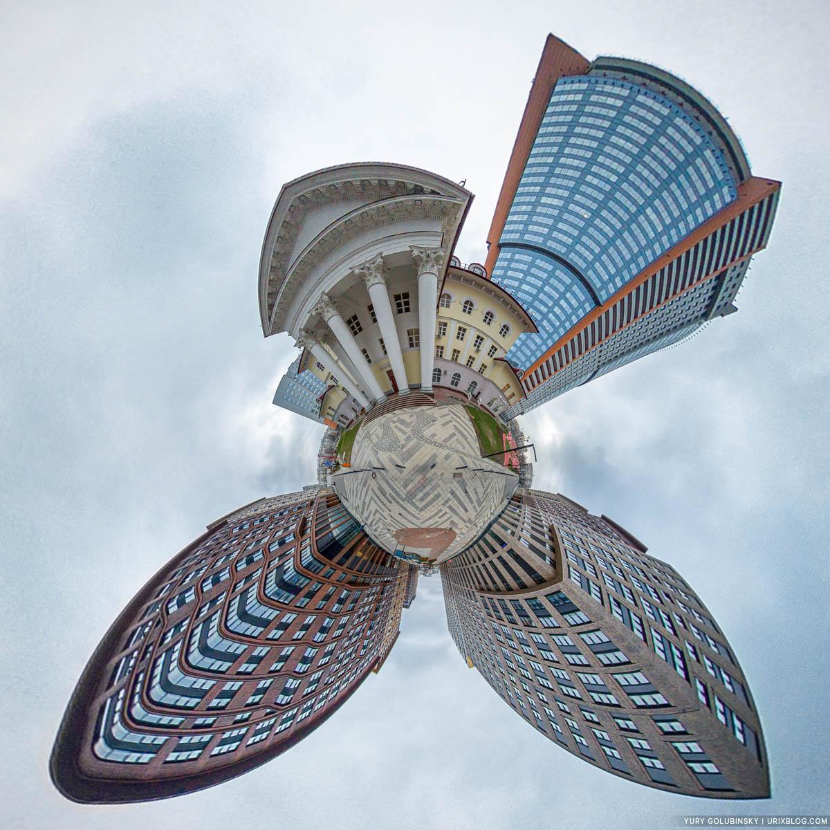 ЖК Царская Площадь, маленькая планета, панорама, Москва, Россия, 2020