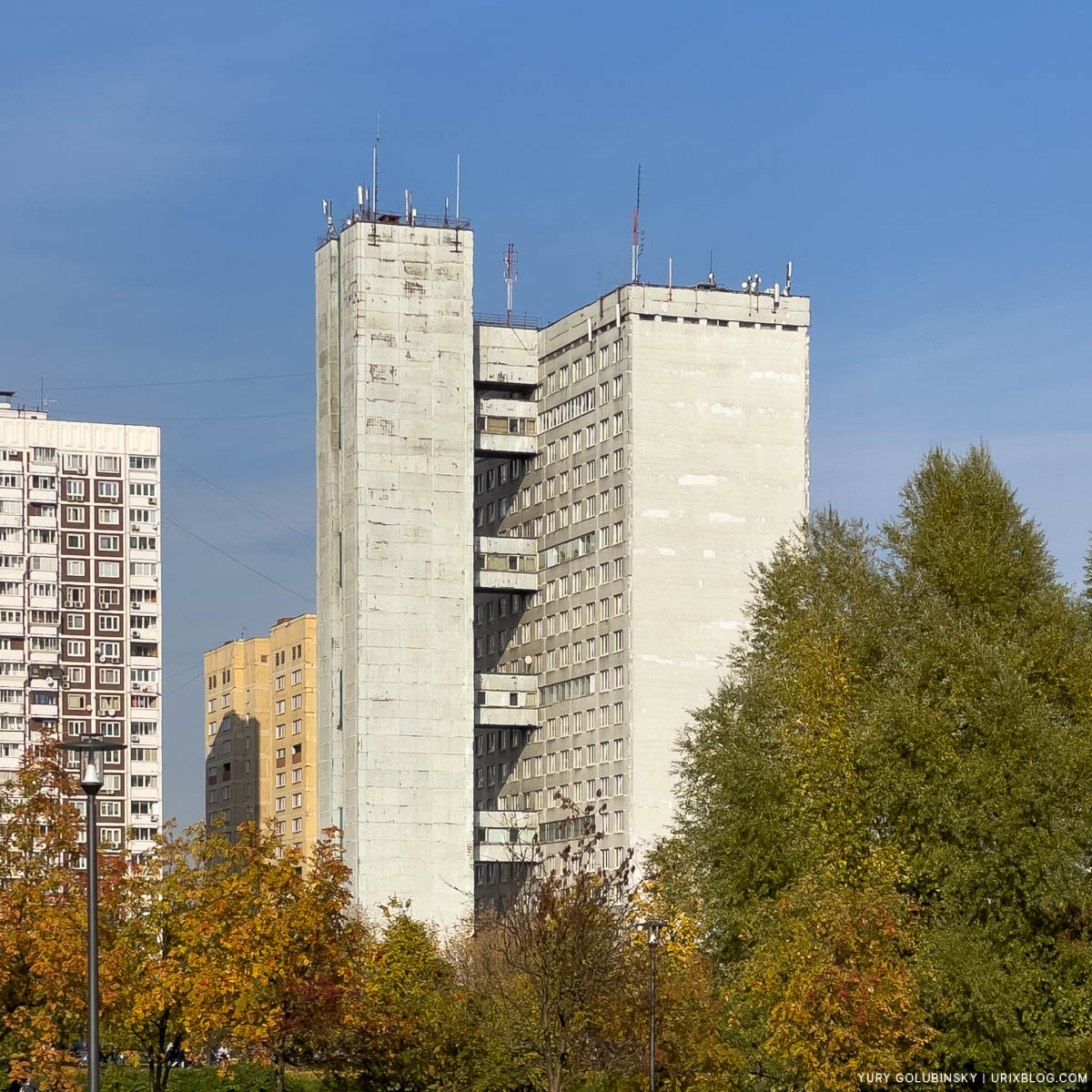 Druzhba MAI hostel, Park of Friendship, Northern River Station, Display P3, Moscow, Russia