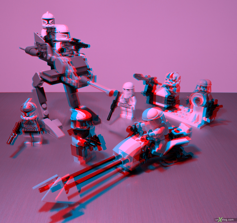 anaglyph source, Toys