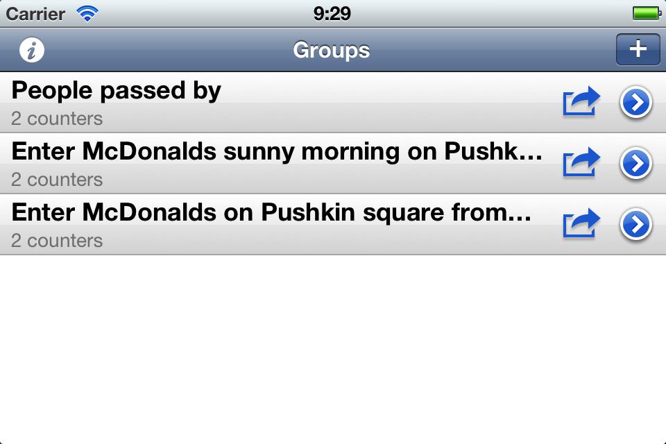 iCount That iPhone screenshot