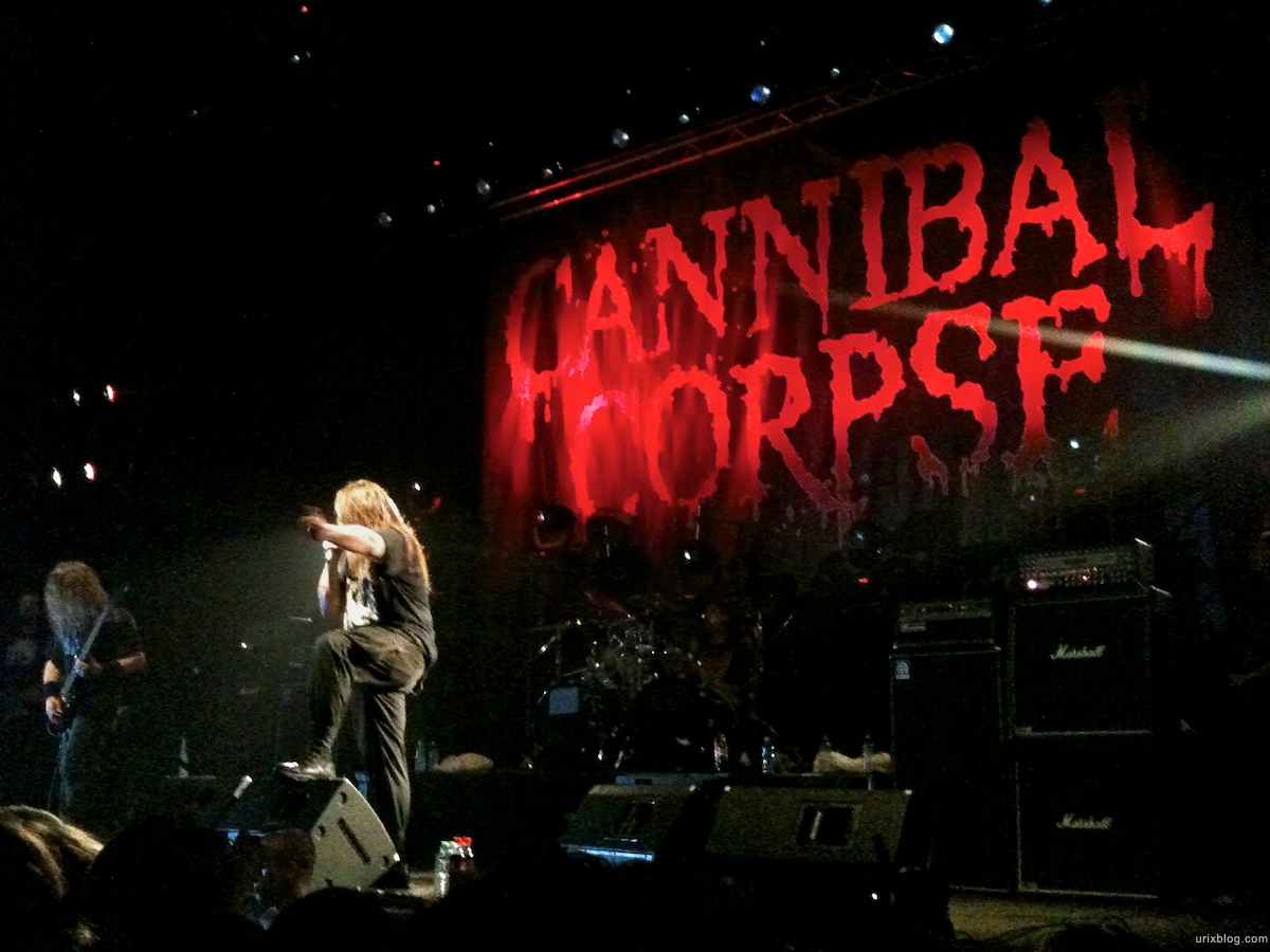 2010 Cannibal Corpse in Moscow