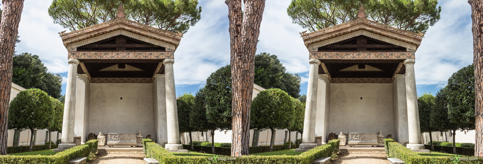 2012, Villa Giulia, Etruscan Museum, Rome, Italy, 3D, stereo pair, cross-eyed, crossview, cross view stereo pair