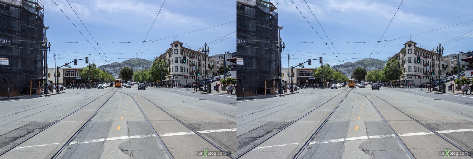 2013, Castro, Сан-Франциско, США, 3D, перекрёстные стереопары, стерео, стереопара, стереопары