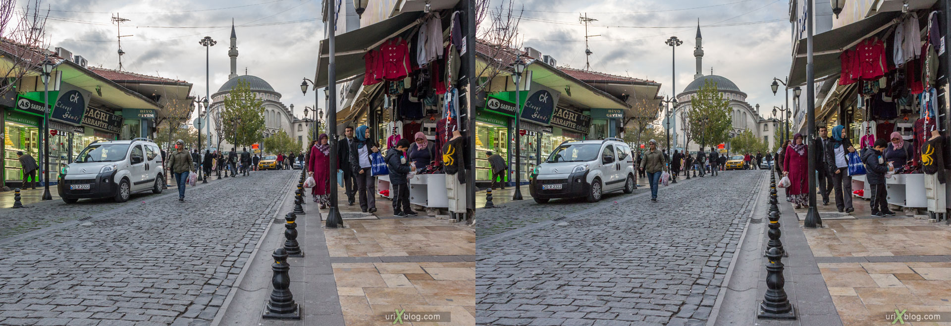 Denizli Turkey  City new picture : Denizli, Turkey, city, 3D, stereo pair, cross eyed, crossview, cross ...