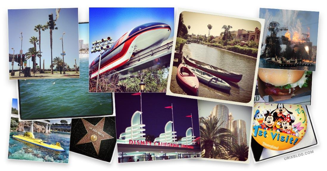 Лос-Анжелес США в instagram от Юрия Голубинского