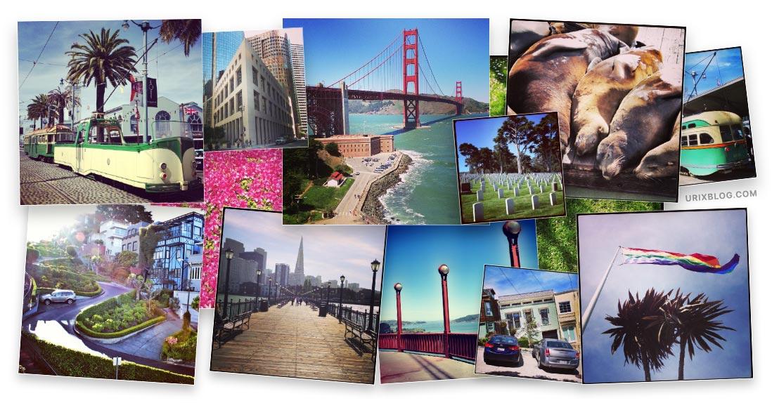 Сан-Франциско США в instagram от Юрия Голубинского